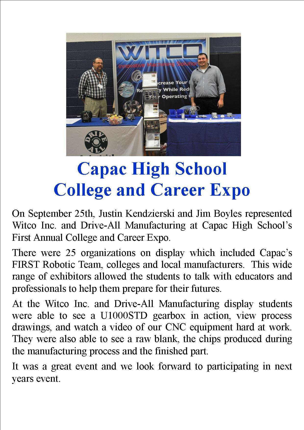 Capac Career Expo
