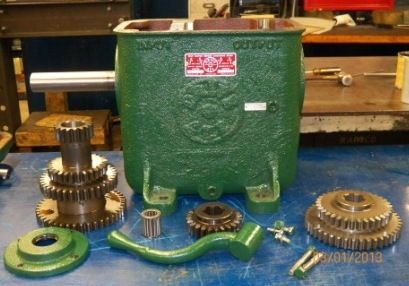 Gearbox for Repair with Parts